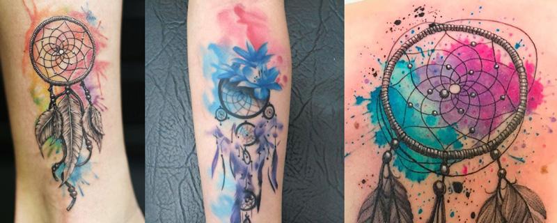 Estilo tatuaje Acuarela (watercolor)