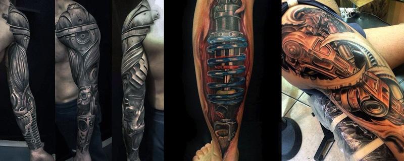 Estilo tatuaje Biomecánicos