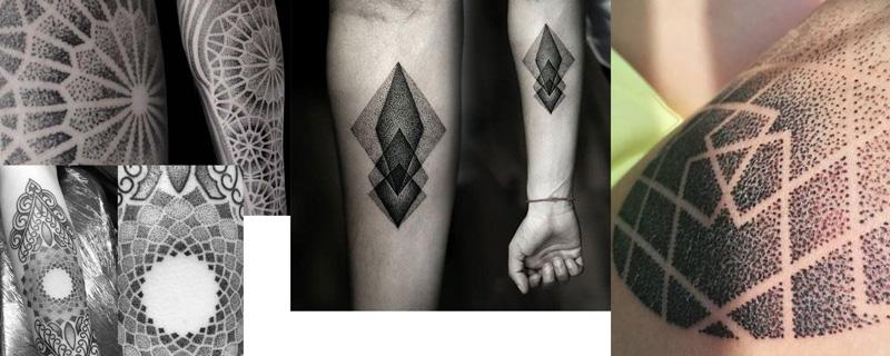 Estilo tatuaje Dotwork