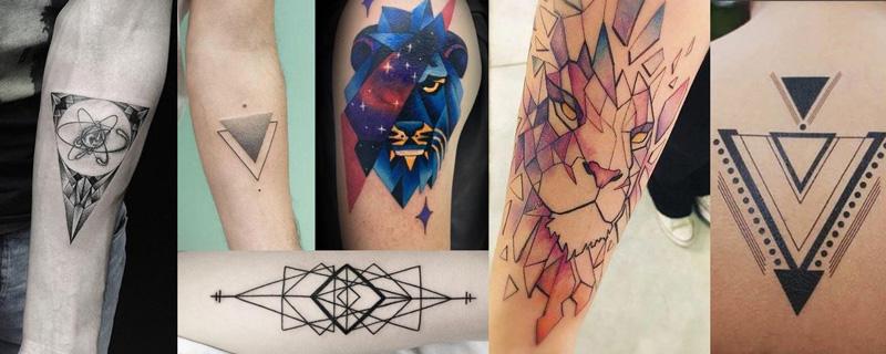 Estilo tatuaje Geométrico