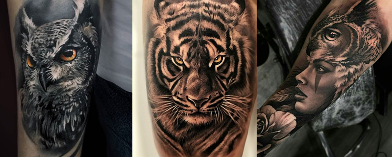 Estilo tatuaje Realismo