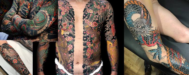 Estilo tatuaje Tradicional Japonés