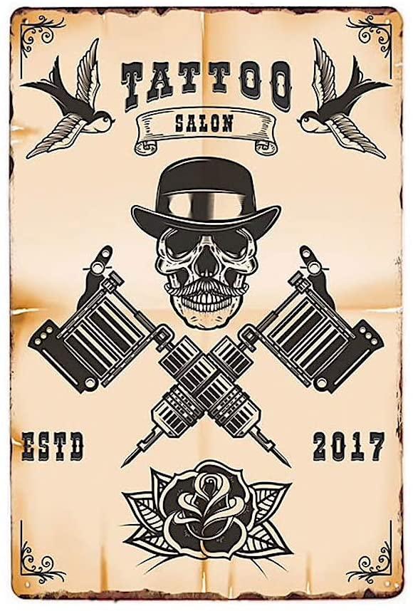 Placa de acero vintage