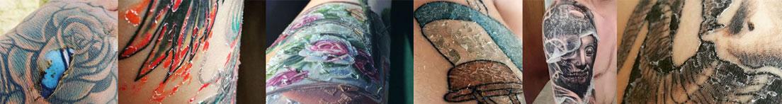 Qué hacer cuando el tatuaje se pela y pierde color